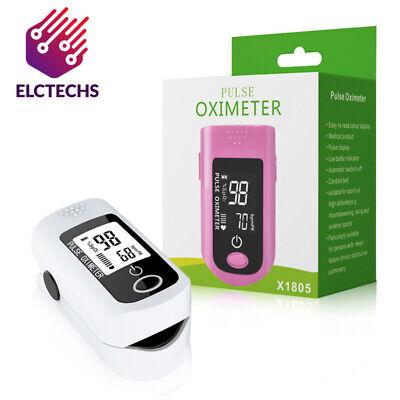 Finger Pulse Oximeter Blood Oxygen Spo2 Monitor Pr Heart Rate Monitor Fda Us
