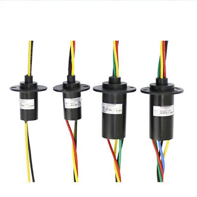 High Current Conductive Slip Ring Electric Rotary Joint 2-12 Wires 2a-60a