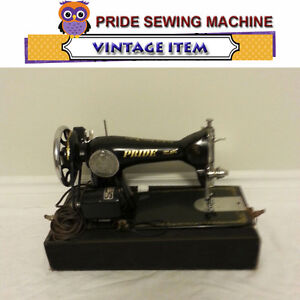 PRIDE (SINGER) VINTAGE SEWING MACHINE - MANUFACTURED IN THE 40'S