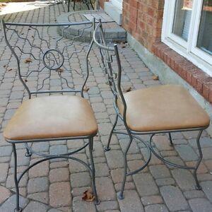 Bristo Bar Chairs And Matching Chairs