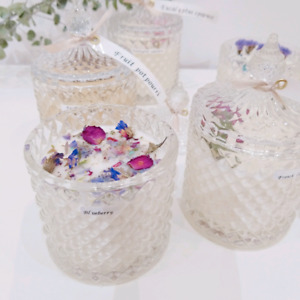 Chrystal soy candle (aroma scented)