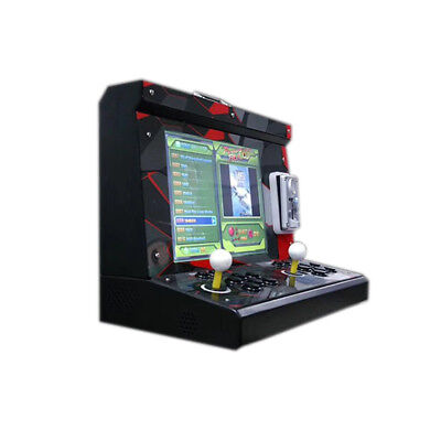 2 player metal case Arcade Game Machine with 15 inch LCD 1399 in 1 games board for sale  Shipping to Canada