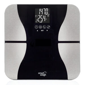 Smart Weigh Body Fat Digital Precision Scale with Tempered Glass