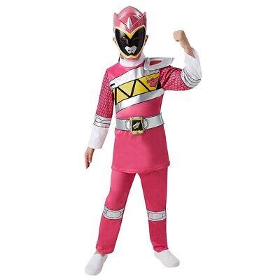 RUB 3620067 Pink Power Ranger Dino Charge Deluxe Kinder Lizenz Kostüm Rosa