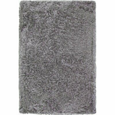 Abacasa Luxe Shag Grey 5x8 Area Rug