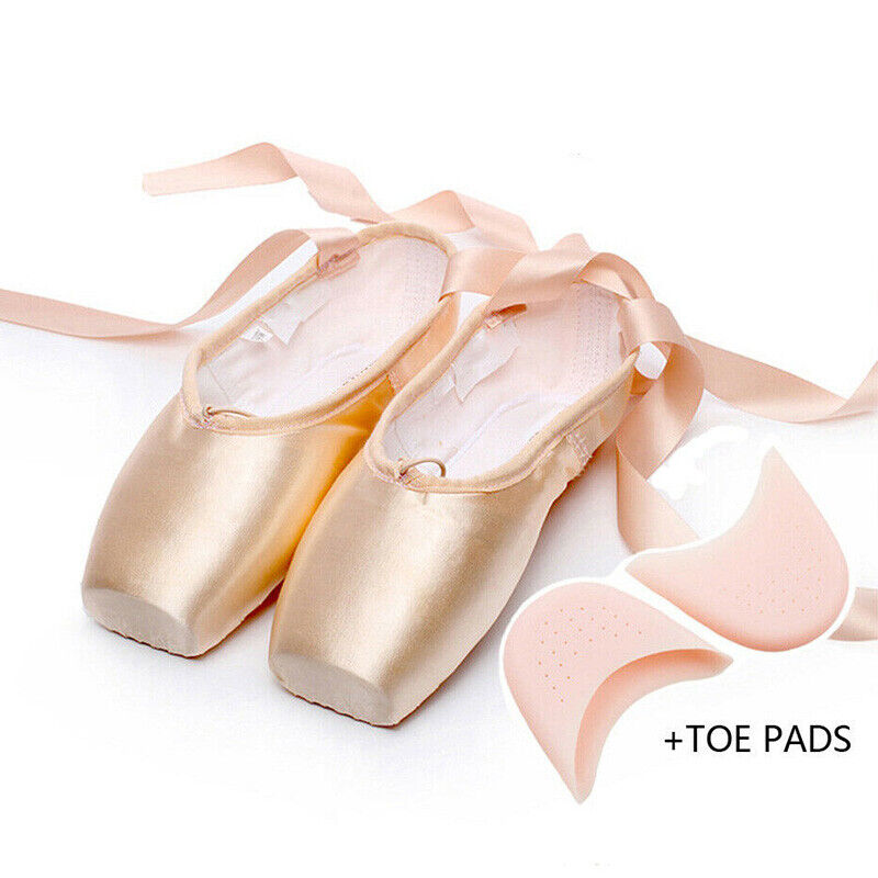 Satin Pink With Toe Pads