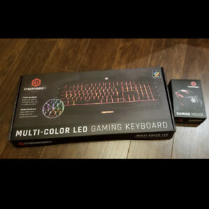 CyberPowerPC Gaming Keyboard and Mouse