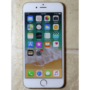 Apple iPhone 6 16GB unlocked used white color works good