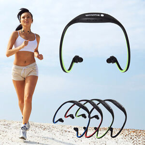 Bluetooth Wireless Sports headset Stereo Headphone Earphone