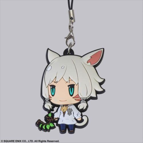Square Enix Trading Rubber Strap 6 Cellphone Charm Final Fantasy XIV 14 Y