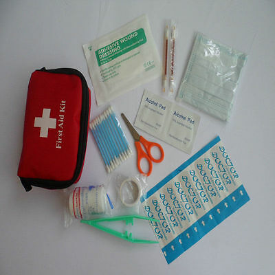 Mini Emergency Medical Bags First Aid Kit Pack Travel Survival Treatment_ResceJK