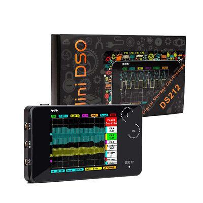 Mini Ds212 Smart Lcd Digital Storage Oscilloscope 1mhz 10msas Max Sample Rate