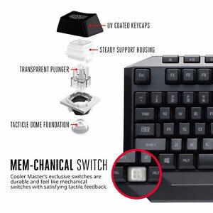 Cooler Master Devastator II - Green LED Gaming Keyboard & Mouse