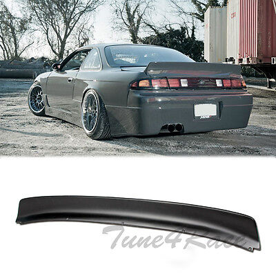 (For 95-98 240SX S14 Bunny Style Rear Trunk Wing Spoiler Body Kit)