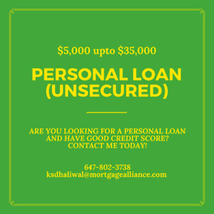 Truck loans/ personal unsecured loans KITCHENER/WATERLOO