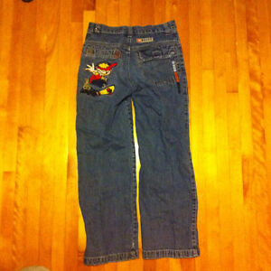Boys size 10 jeans and pyjamas clothes package Kingston Kingston Area image 2