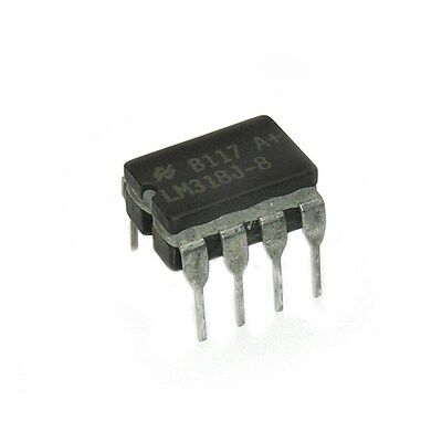 Speed Op Amp - LM318J-8 Precision High-Speed Op Amp Ceramic CDIP-8 National Semiconductor