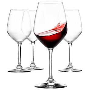 Italian Red Wine Glasses - 18 Ounce