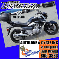 2013 Suzuki GW250 Inazuma SUPER COOL BIKE Only $2995 WOW Bedford Halifax Preview