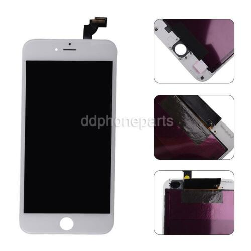 White LCD Screen + Touch Digitizer + Bezel Frame For Apple iPhone 6 Plus 5.5''