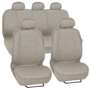 Universal Leather Seat Covers Full Set