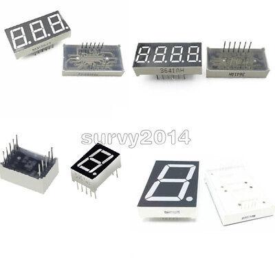 7 Segment 0.561.80.36 0.5inch 134 Digit Common Cathodeanode Led Display