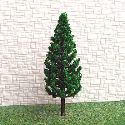 50 pcs Model Pine Trees Model Train Trees for HO or OO scale scene 78mm #C7828