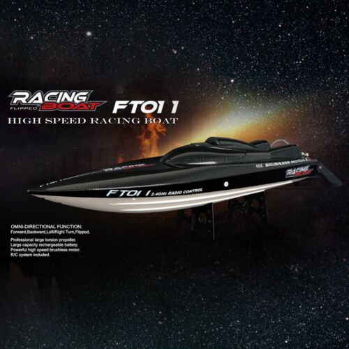 Feilun FT011 65 CM 2.4G Water Cooled Brushless Motor RC Racing Boat with Remote