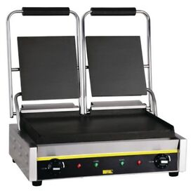 Buffalo Double Bistro Contact Grill GJ456