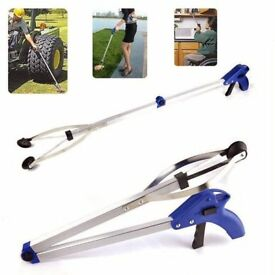 Foldable Litter Reaching Pick Up Tool Picker Easy Reacher Grabber Disability Aid £7 Each