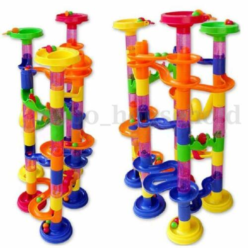 58PCS MARBLE RUN CONSTRUCTION CHILDRENS KIDS BUILDING BLOCKS CREATIVE GAME TOY