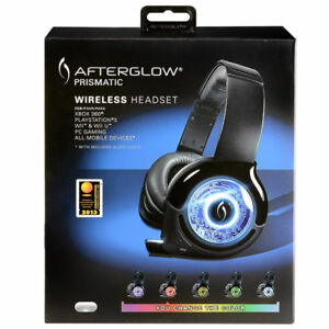 NEW Afterglow Universal Prismatic Wireless Headset(XBOX,PS, WII.