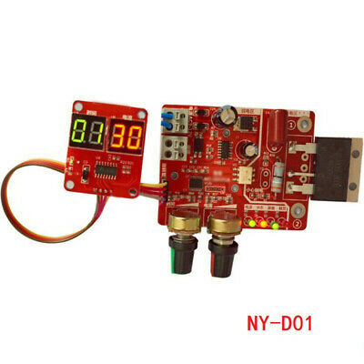 Spot Time Point Welding Digital Display Current Panel Controller Module Board