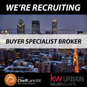 Looking for Real Estate Broker (Buyers Specialist)
