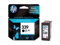 BRAND NEW BOXED GENUINE HP HEWLETT PACKARD INK CARTRIDGE HP 339 BLACK - C8767EE ABB