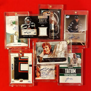 BUYING - Collections - New sports cards