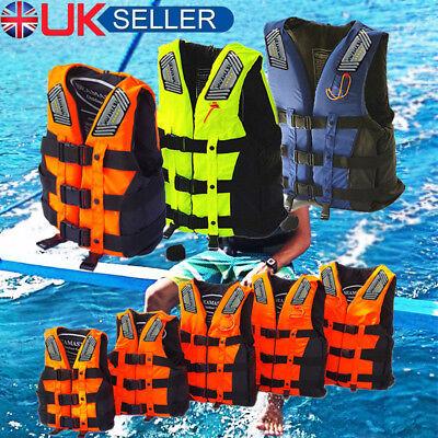 UK Adult Kid Life Jacket Safely Vest Aid Foam Sport Swimming Boating Sailing M
