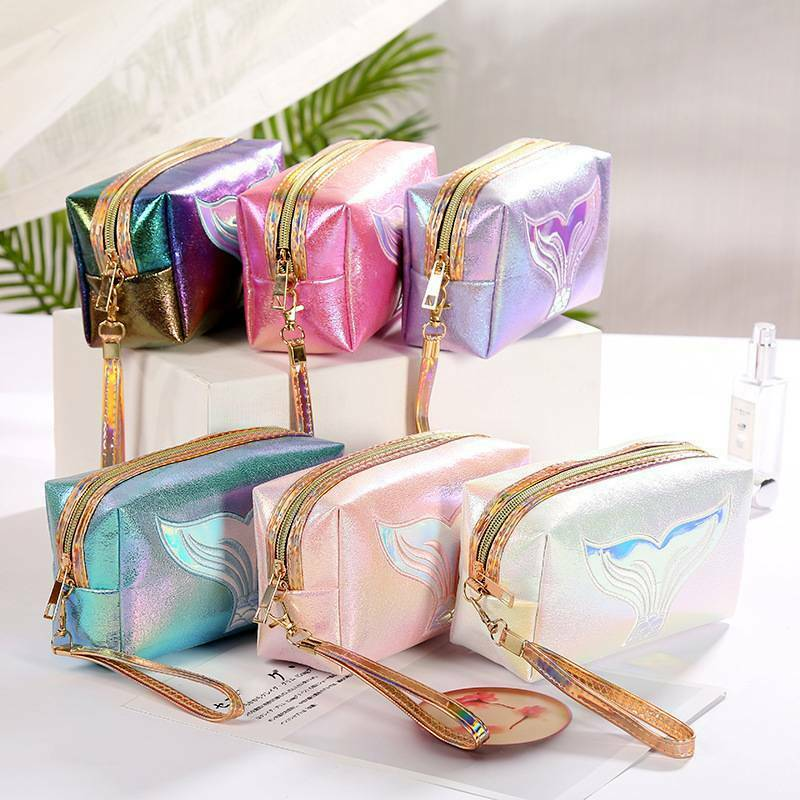 Women Travel Cosmetic Bag Makeup Pouch Organizer Fashion