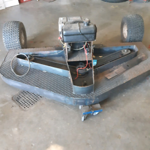 Tow behind lawnmower (project)
