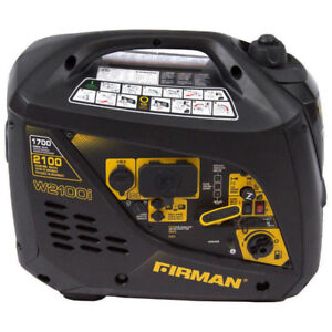 Firman Power Equipment W01781 Gas Powered 2100/1700 Watt