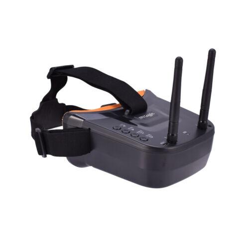 5.8G FPV-Brille 40CH Dual-Antennen Monitor-Videobrille für RC-Drohne mit Kamera