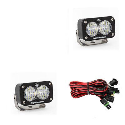 Baja Designs ATV S2 Sport Pair Wide Cornering LED Lights