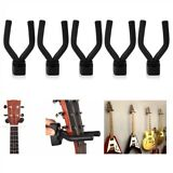 5pcs Guitar Hanger Stand Holder Wall Mount Hook Display Acoustic Electric Bass