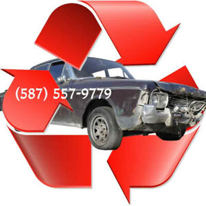 TOP CASH FOR JUNK CARS - upto $1,500 -  (587) 557-9779