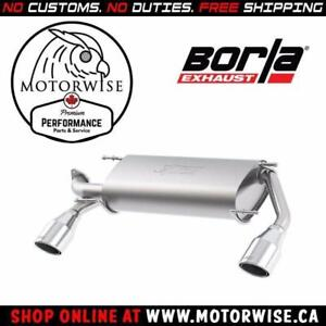 Borla Touring Axleback Exhaust System | 2013-2016 Subaru BRZ & Scion FR-S | Shop & Order Online at motorwise.ca