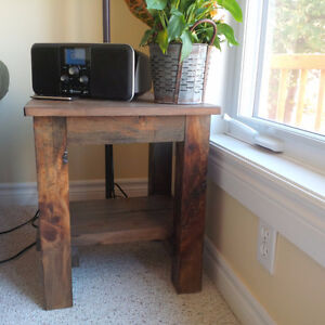 Reclaimed Pine Coffee Table and End Tables Belleville Belleville Area image 2