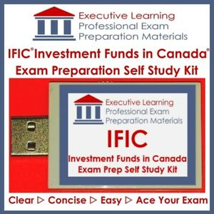 Investment Funds in Canada IFIC IFC 2018 Exam Textbook