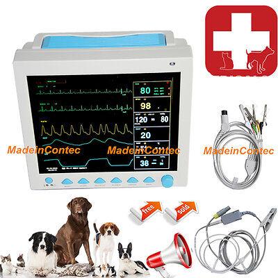 Veterinary Pet Patient Monitor Multiparameter Icu Machine Big Screen