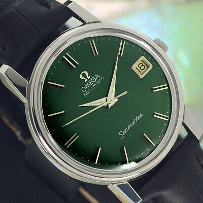 VINTAGE OMEGA Seamaster AUTOMATIC 24 JEWELS CAL.562 DATE ANALOG DRESS MENS WATCH