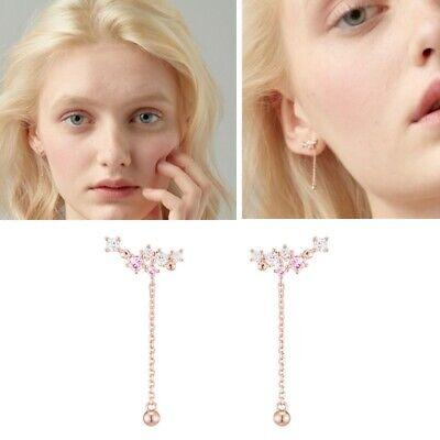 [J.ESTINA] Blossom Baby Pink Round Stone Earrings JJCEEQ0BS903SR000 K-beauty